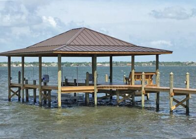 Land and Sea Marine River Dock 1