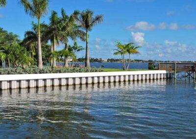 Land and Sea Marine Concrete Cap Vinyl Seawalls