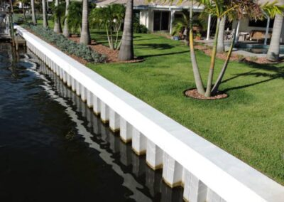 Land and Sea Marine Concrete Cap Vinyl Seawallswalls
