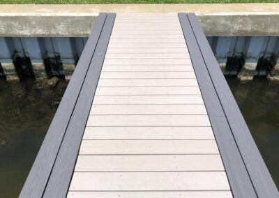 Alternate Color Decking used by Land and Sea Marine