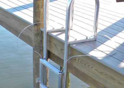 Retractable Ladder by Land and Sea Marine