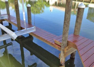 Finger Pier by Land and Sea Marine