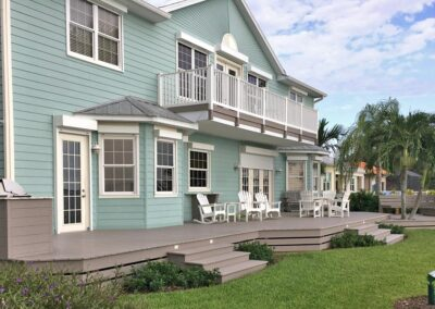 Deck and Balcony by Land and Sea Marine