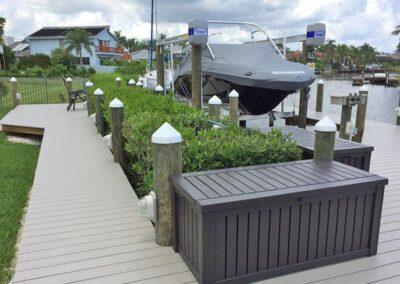 Tortoise Island Canal Dock by Land and Sea Marine